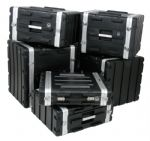 ABS 3U 19 inch Equipment Flight Case